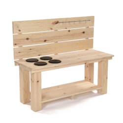 Mud Kitchen Bench with Hob