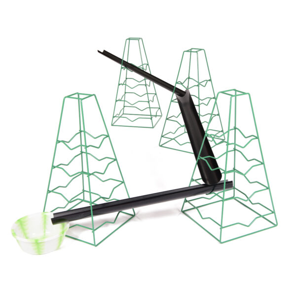 Set of Guttering and Pipe Stands