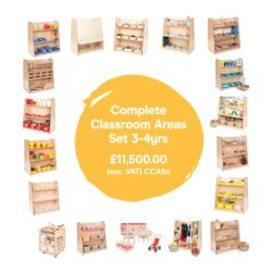Complete Areas 3-4yrs
