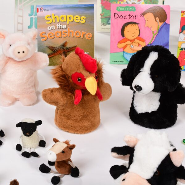 Books & Puppets Resource Collection 4-5yrs