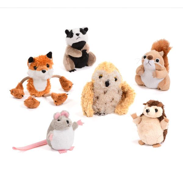 British Wildlife Finger Puppet Set
