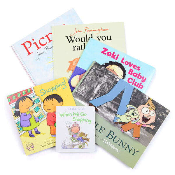 Set of Role Play Books